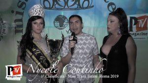 Intervista a Nycole Coutinho, vincitrice del Miss Trans Estate Roma 2019